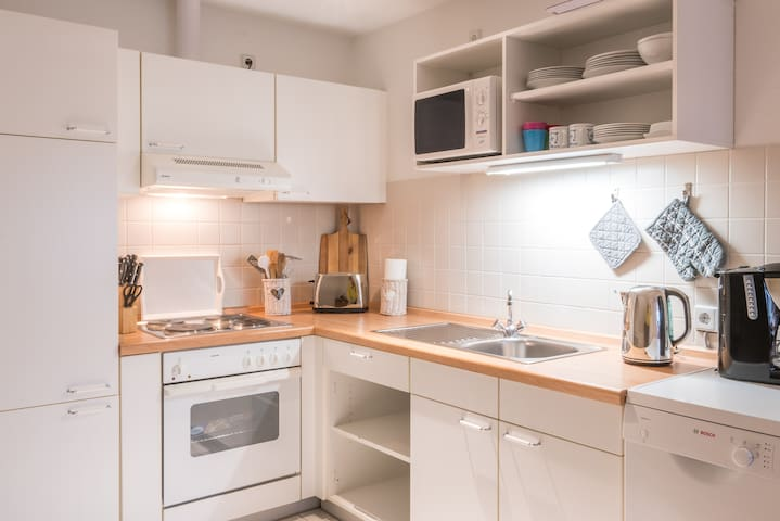Friesenhof Benen Diken: Ferienwohnung Lütte Deern - Tetenbüll - Appartement