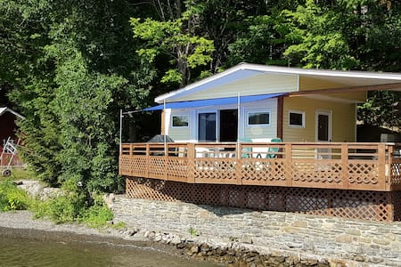 Keuka Beach House - Glamping at its best!