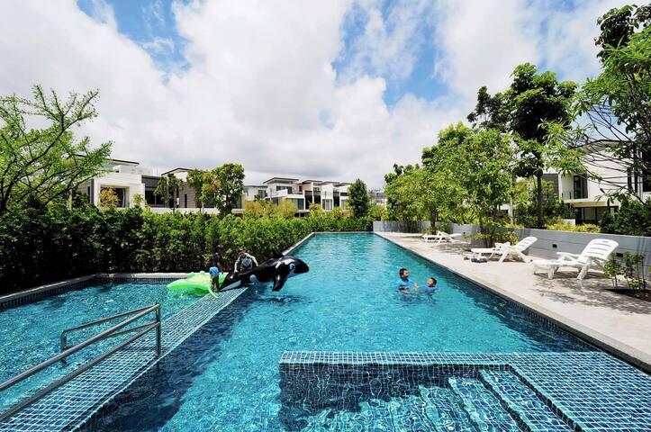 750平度假村奢华别墅带私人泳池Banyan Tree private pool Villa