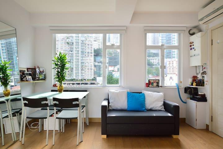 Beautiful flat in Po Hing Fong neighbourhood - Hong Kong - Apartment