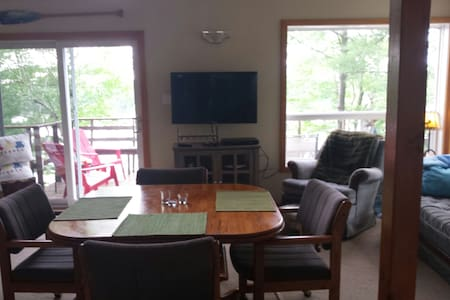 Cottage 2bdrm & loft for rent - sixmile lake