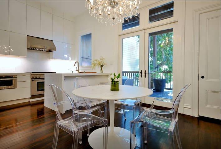 Open Plan Dining Room & Kitchen