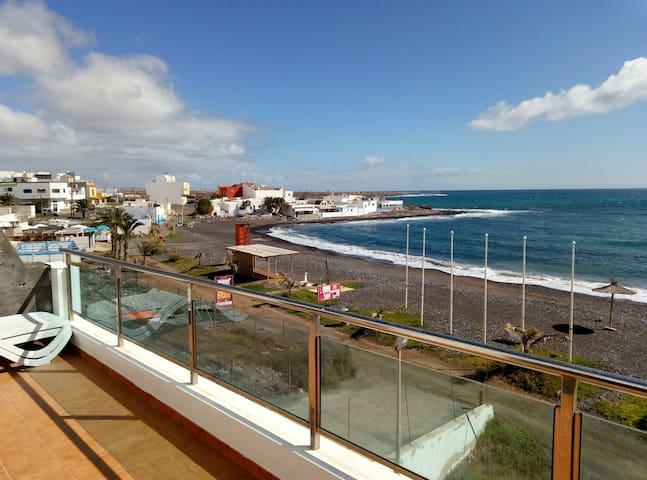 APARTAMENTO 1ª LÍNEA DE PLAYA, ZONA PUERTO LAJAS - Puerto Lajas - อพาร์ทเมนท์