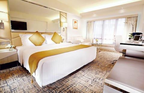 Luxury NYE Two Double Bed Room In Hongkong
