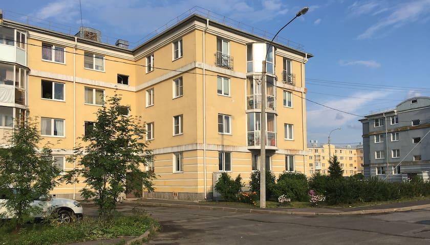 Квартира рядом с парками  Пушкина