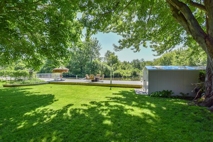 Water front, Facing Forest,  Private Entrance