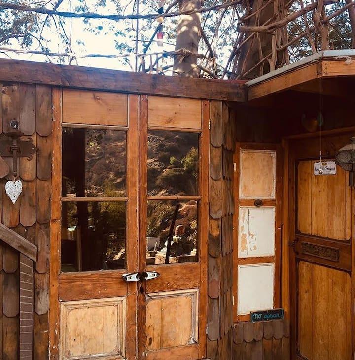 Refugio Rústico Casa Árbol / RefugiArte