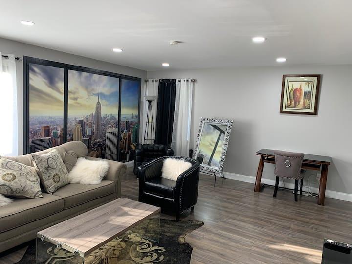 Minutes to NYC & Metlife, One bedroom apt/Spa Bath