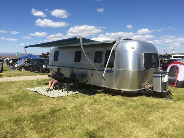 Airstream Delivered to Your Campsite or Event