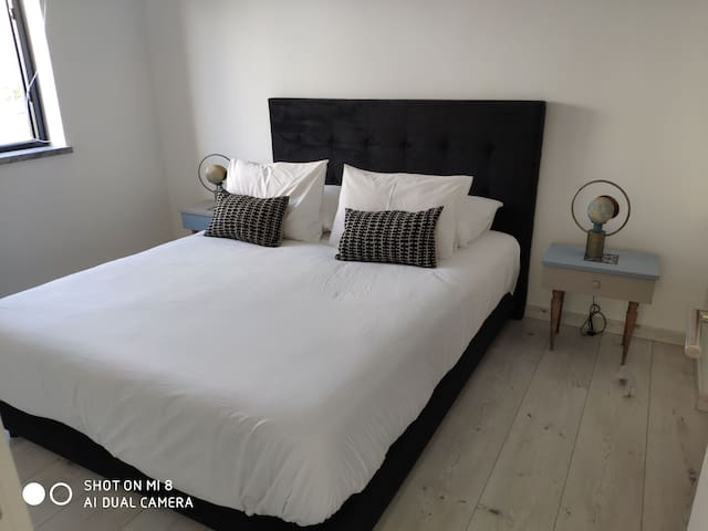 Master suite 2 with king size bed, shower room and dressing.