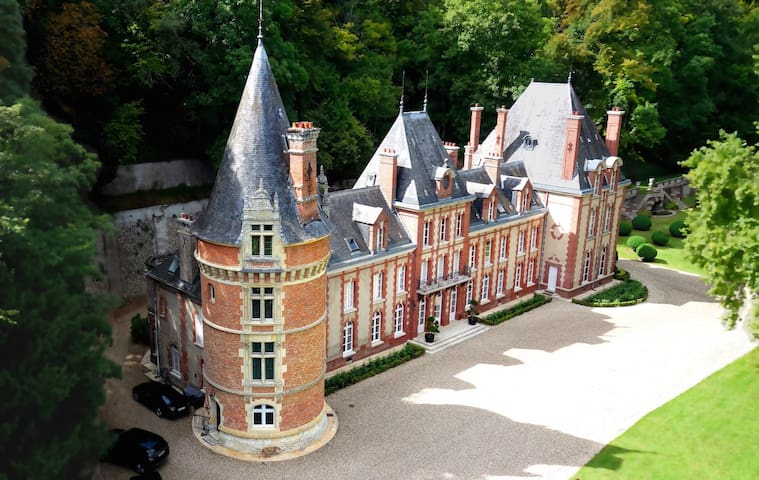 Magnificent Castle in Normandy - Bazincourt-sur-Epte - Schloss