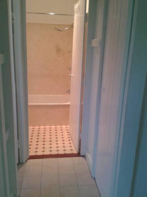 bathroom - includes bath. Separate toilet