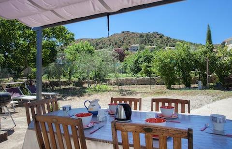 Maison située a Ponte Leccia centre Corse 4lits.