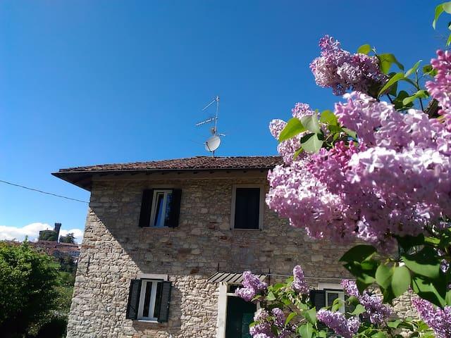 """""""Casa dei nonni""""- Camera Fior di papavero - Trisobbio - Rumah"""