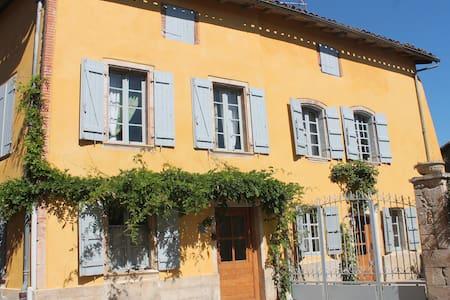 Maison de village en bord d'Aveyron - Bioule - House