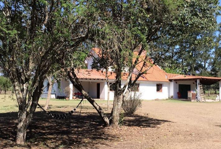 Acercandonos a la casa de Rincón del Alma