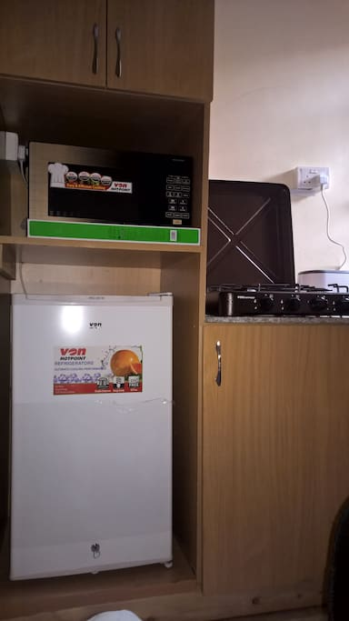 Extra storage place in kitchen precincts