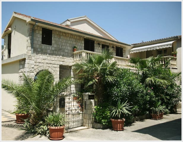 Mediterranean, 2 story, house in Kotor city center