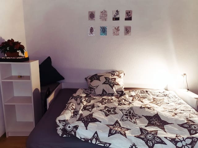 Comfortable and cool location's Room