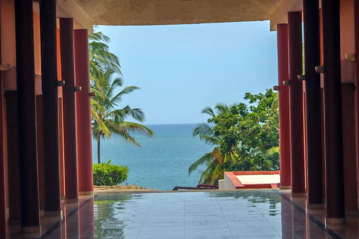 Home Away from Home with Views of the Indian Ocean
