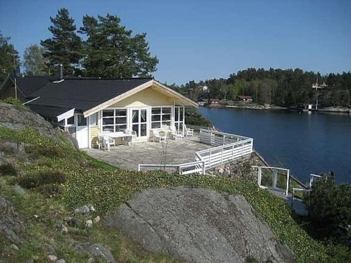 Skjærgårds paradis i Kragerø. Egen strand & brygge