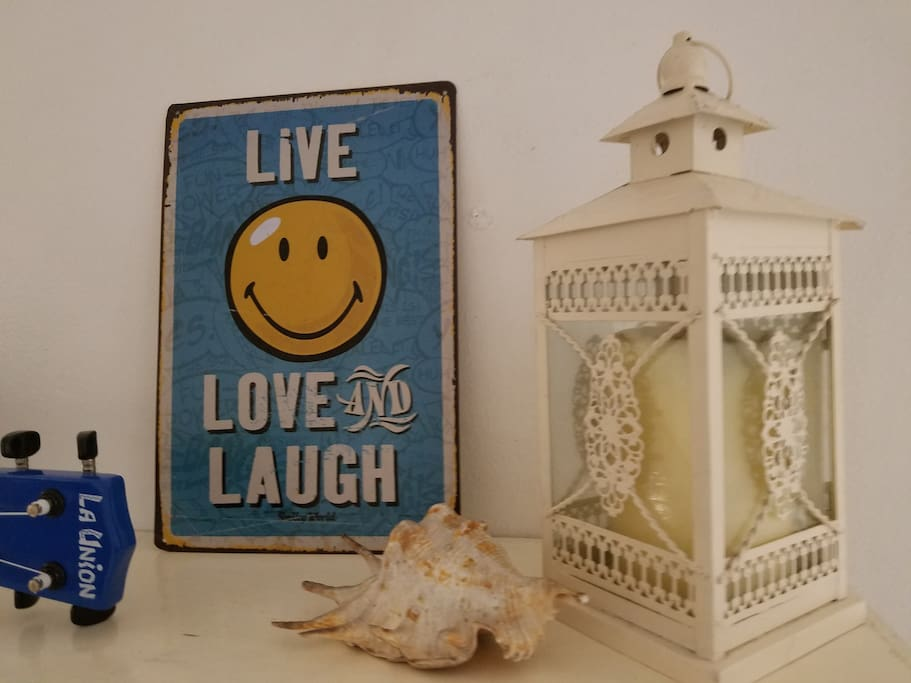 When you are at the beach live, love and laugh :-)