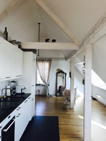 Über den Dächern von Wallisellen - Wallisellen - Apartment