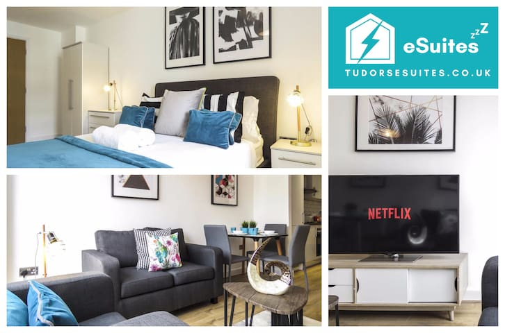 🌟Tudors eSuites🌟 Canal Side Apartments 👔