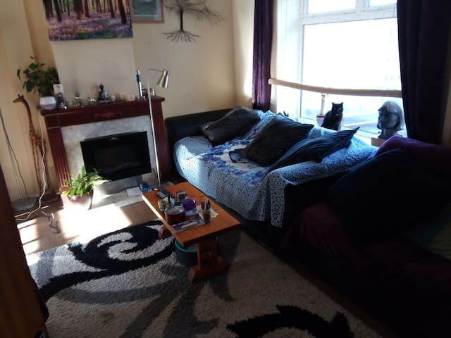 Double room in  shared  house in South Wales