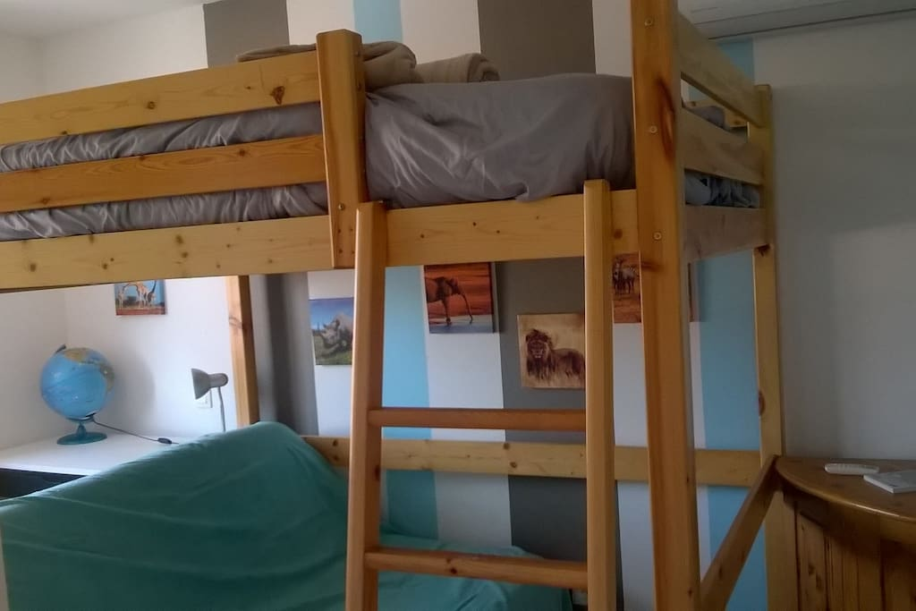 CHAMBRE ENFANT 4 COUCHAGES POSSIBLE