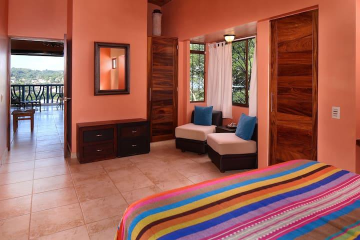 La Luna Master Suite sitting area (air conditioned)