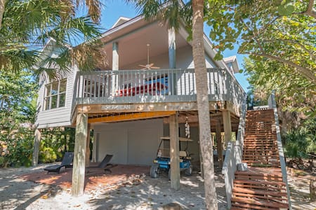 Sea Bean: Charming Beach Home on North Captiva - Captiva - Hus