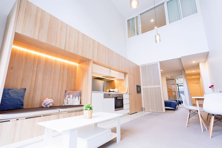 Designed DUPLEX apartment at heart of Ashfield
