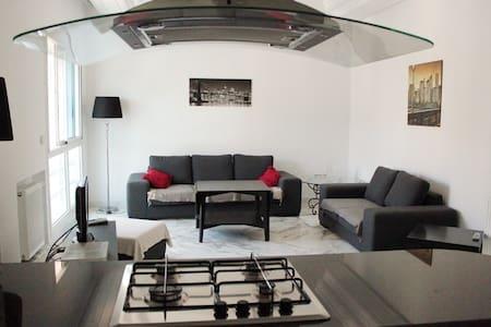 Appartement luxuesement Meublé 80m2 - La Soukra - Leilighet