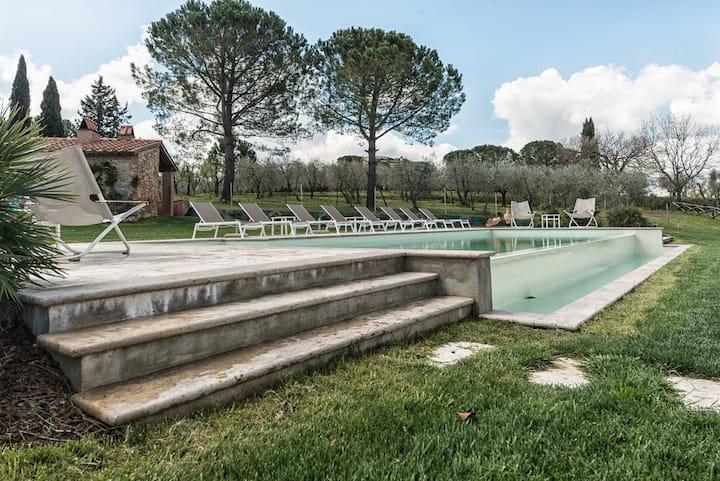 Bilocale di Villa S Marco con piscina