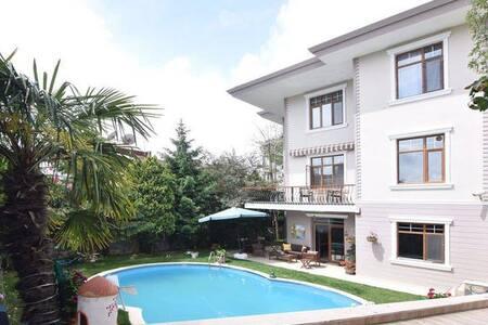 Keyifli bir tatil için müstakil havuzlu villa - Kartal - 别墅