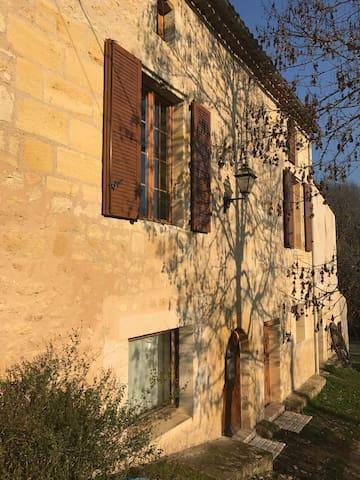 Villa La Maroutine au sein de l'Entre-Deux-Mers - Le Tourne - Apartamento