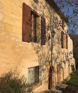 Villa La Maroutine au sein de l'Entre-Deux-Mers - Le Tourne - Apartament