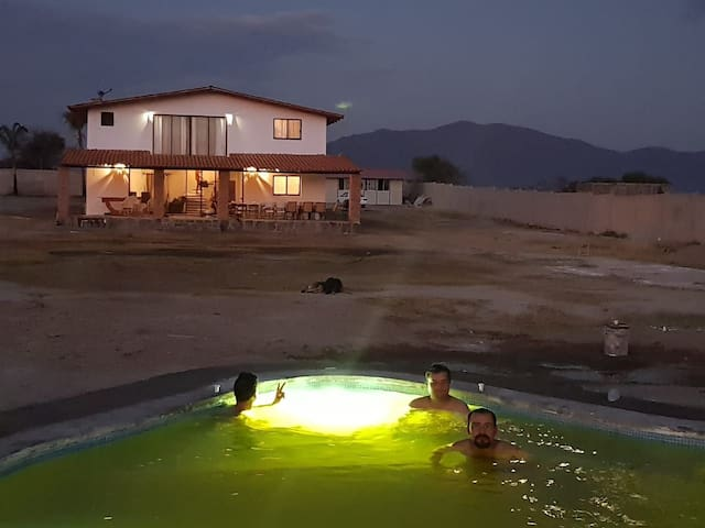 Cabaña hermosa con alberca a 50 min de Guadalajara