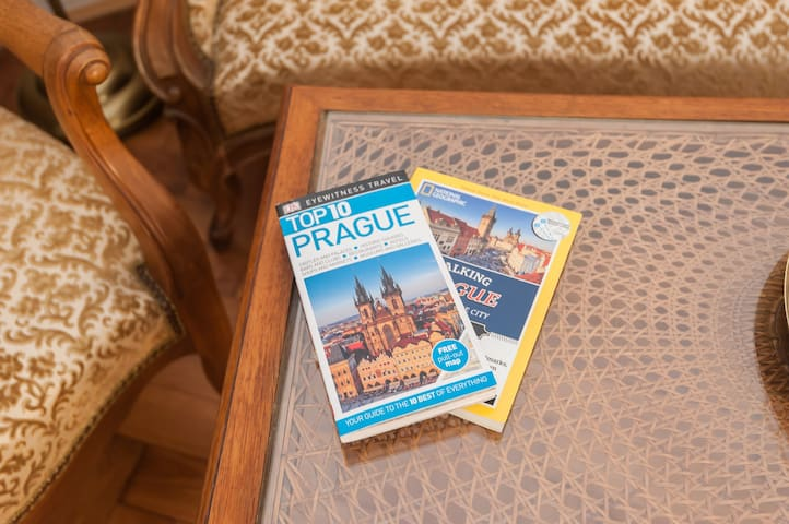 all our guests receive a personalised guidebook with many great local tips and many guidebooks like Lonely Planet etc.