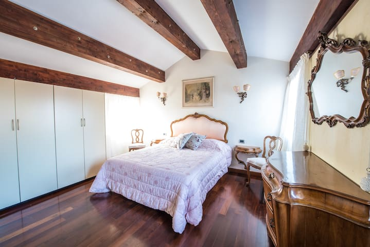 The Bedroom - The soft double bed