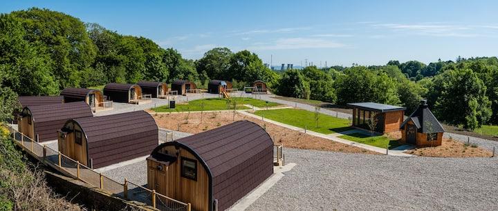 Weedingshall Lodge without hot tub