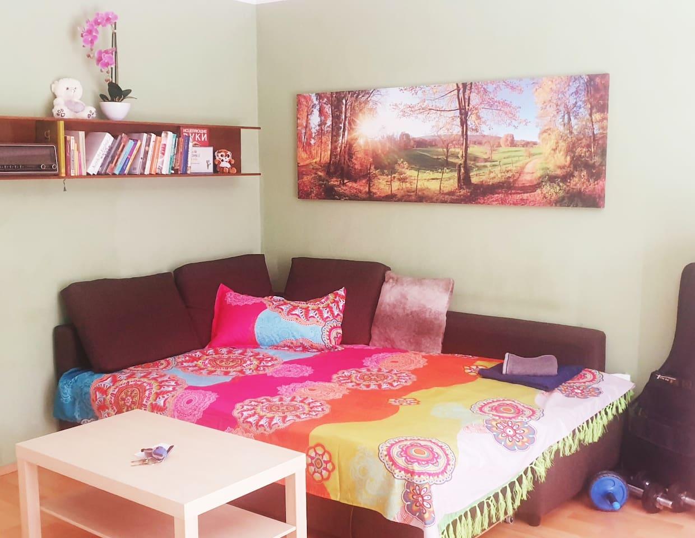 Big sofa for two :)