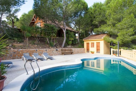 """Relax en """"Entrepinos"""" chalet madera - 무르시아"""