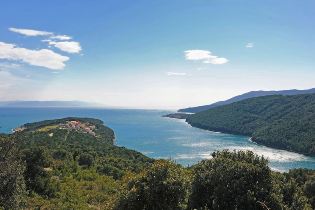 the beautiful inlet of Duga Luka