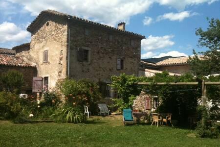 accueil dans la campagne cévenole - Saint-Jean-du-Gard - บ้าน