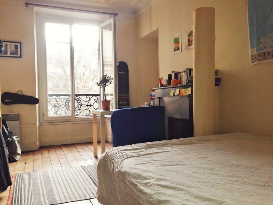Chambre où vous passerez une douce nuit :)