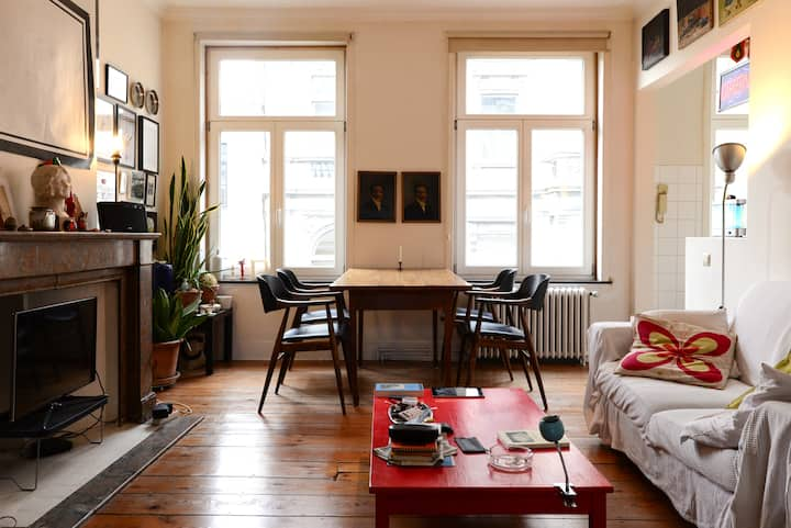 Cosy flat in the heart of Ixelles