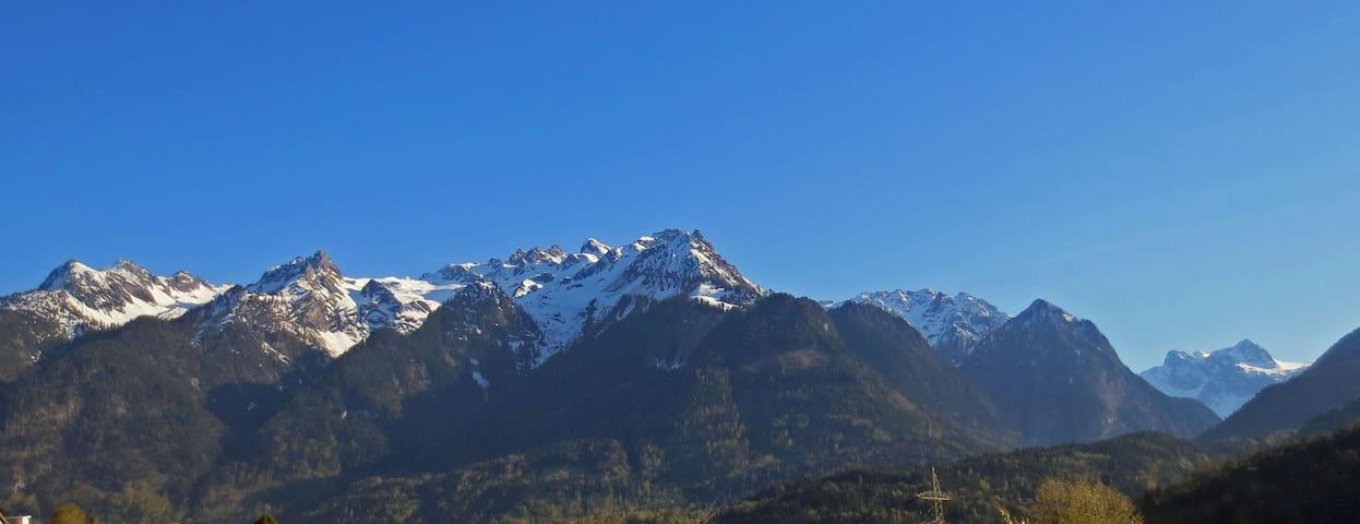 Wohnung mit Blick auf die Berge