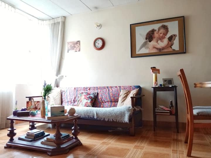Chambre idéale pour de courts séjours à Bogotà